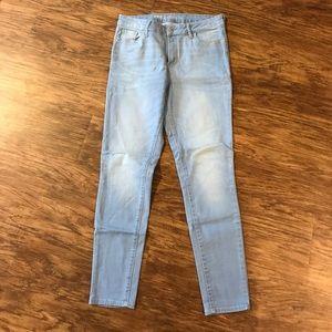 Old Navy Rockstar Skinny Jeans Lt Blue sz 10